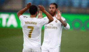 Eden Hazard & Sergio Ramos