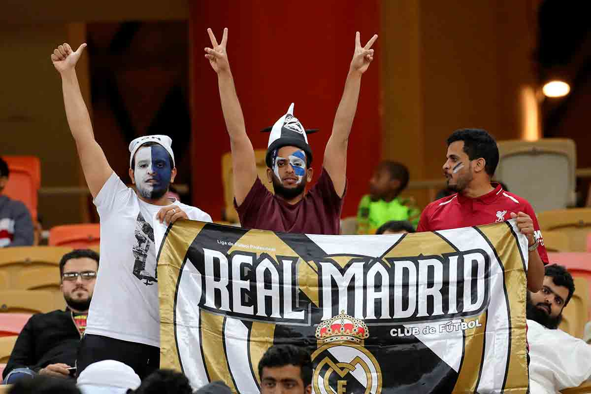 Fans Real Madrid