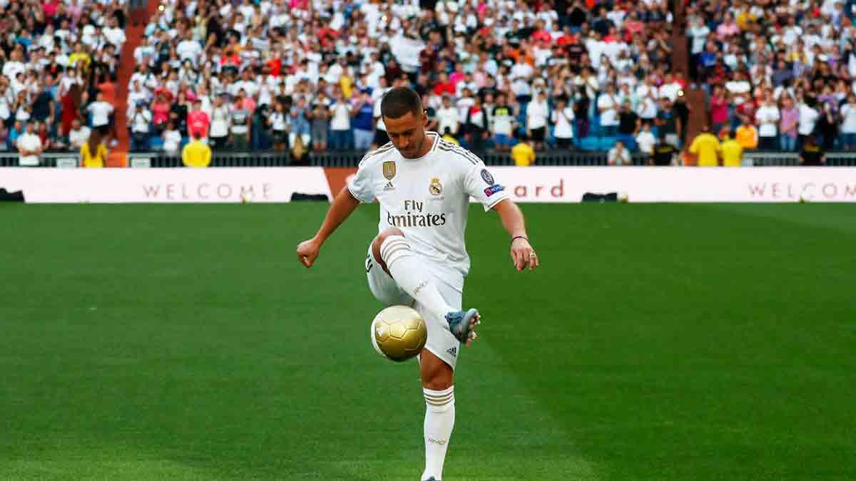 Hazard presentación Real Madrid