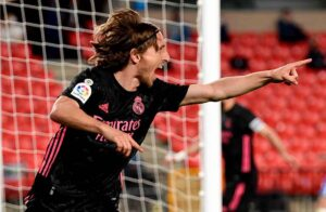 Modric, man of the match