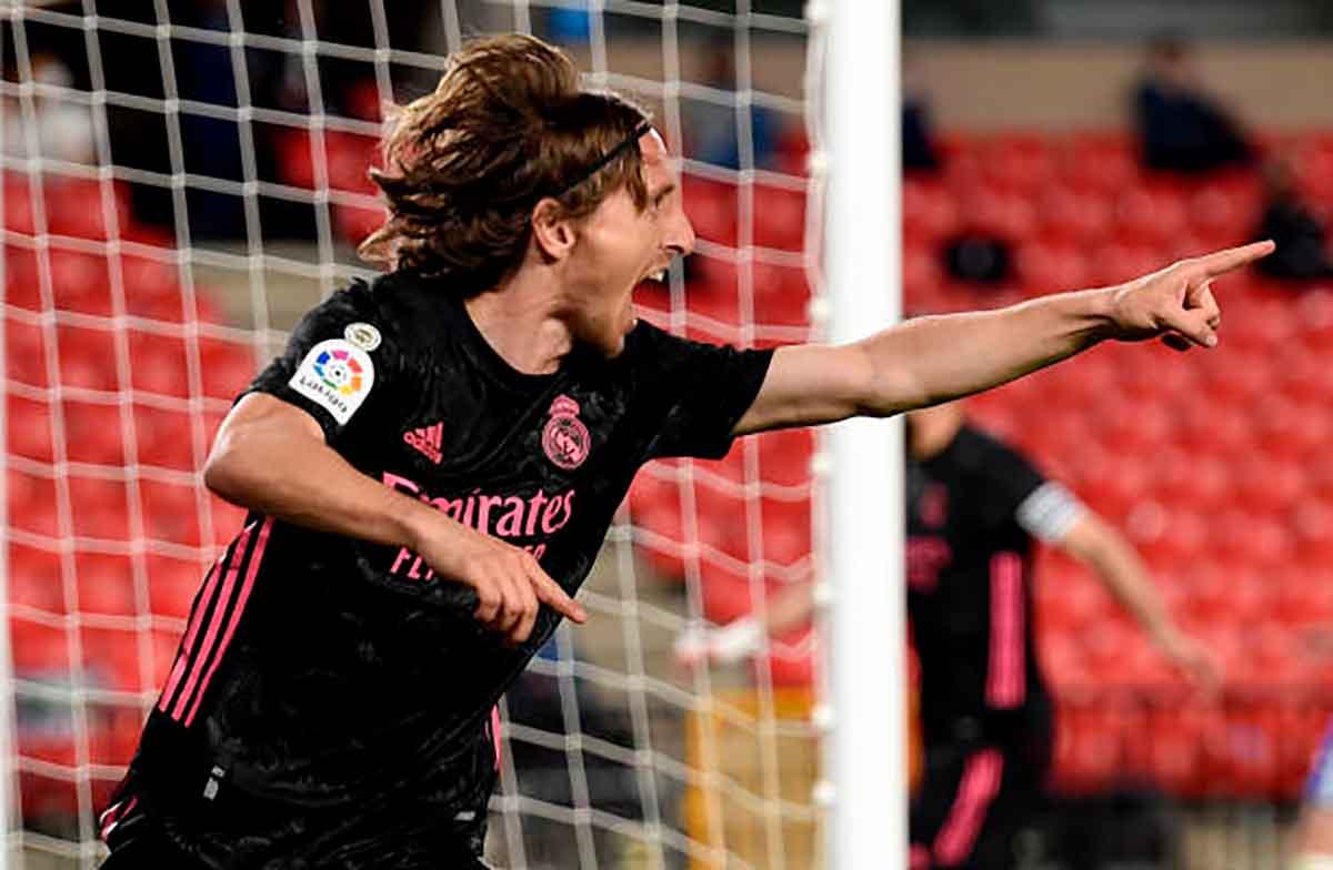 Modric, man of the match