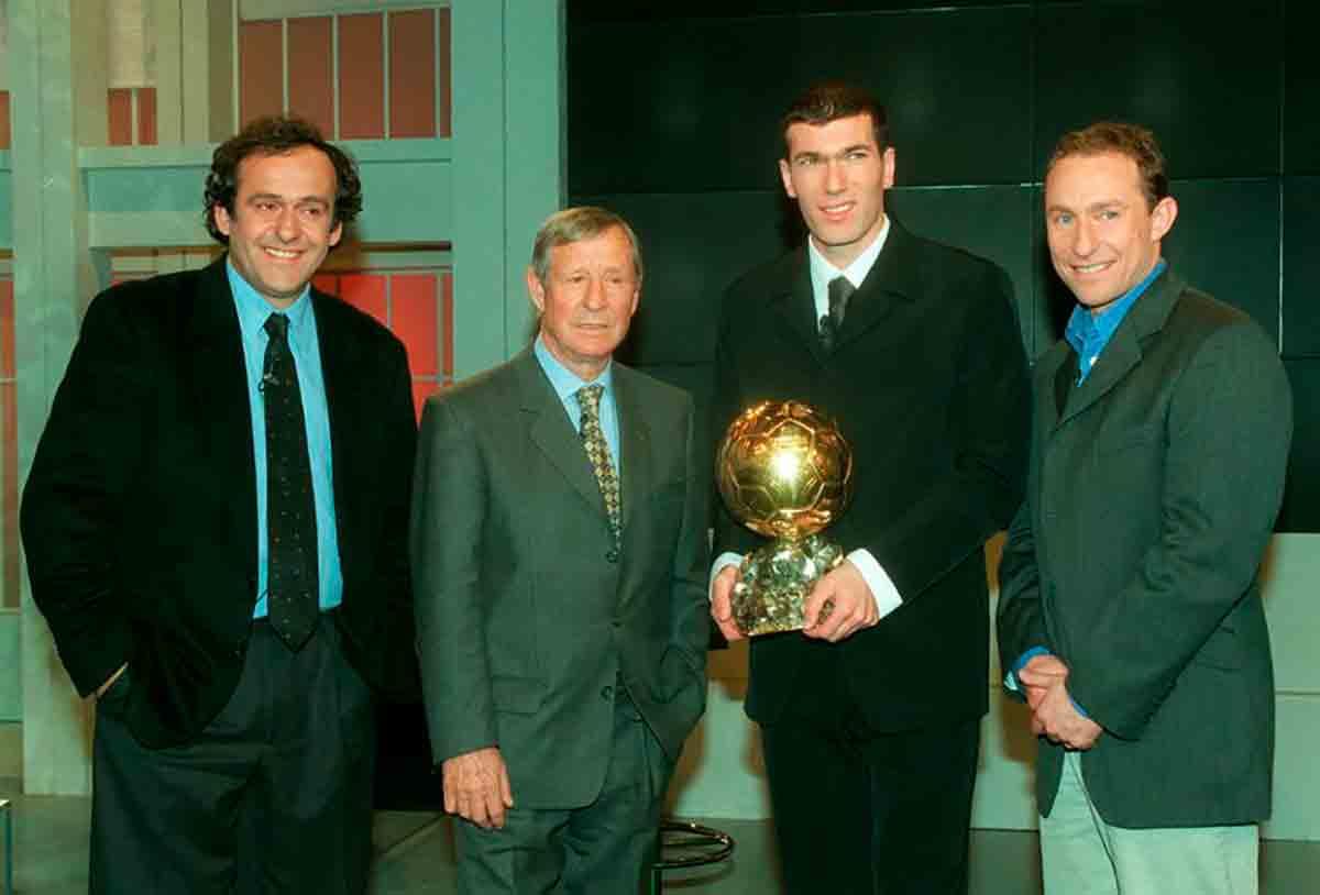Platini Kopa Zidane Papin