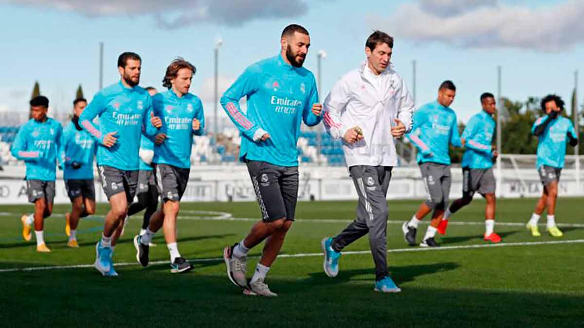 Real Madrid entrenamiento