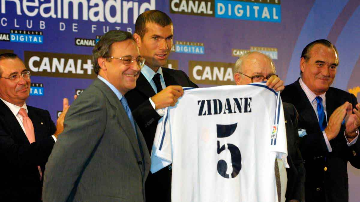 Zidane fichaje Real Madrid