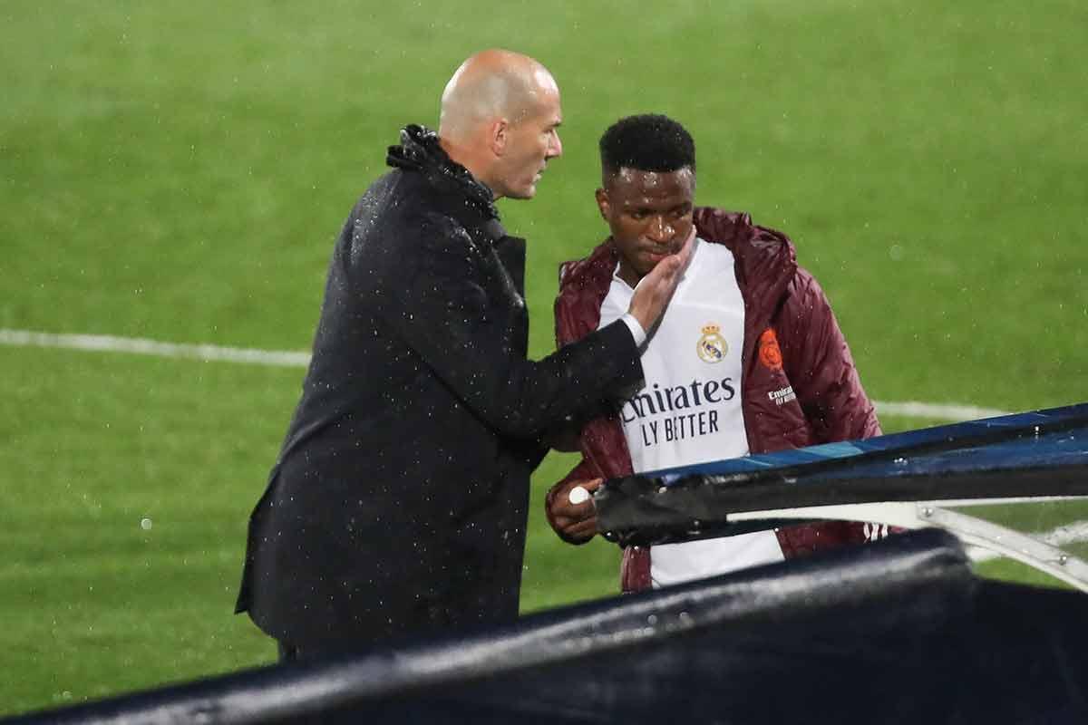 Zidane y Vinícius