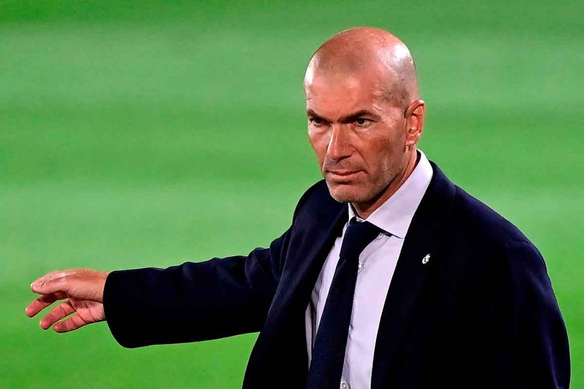 Zidane mosqueado