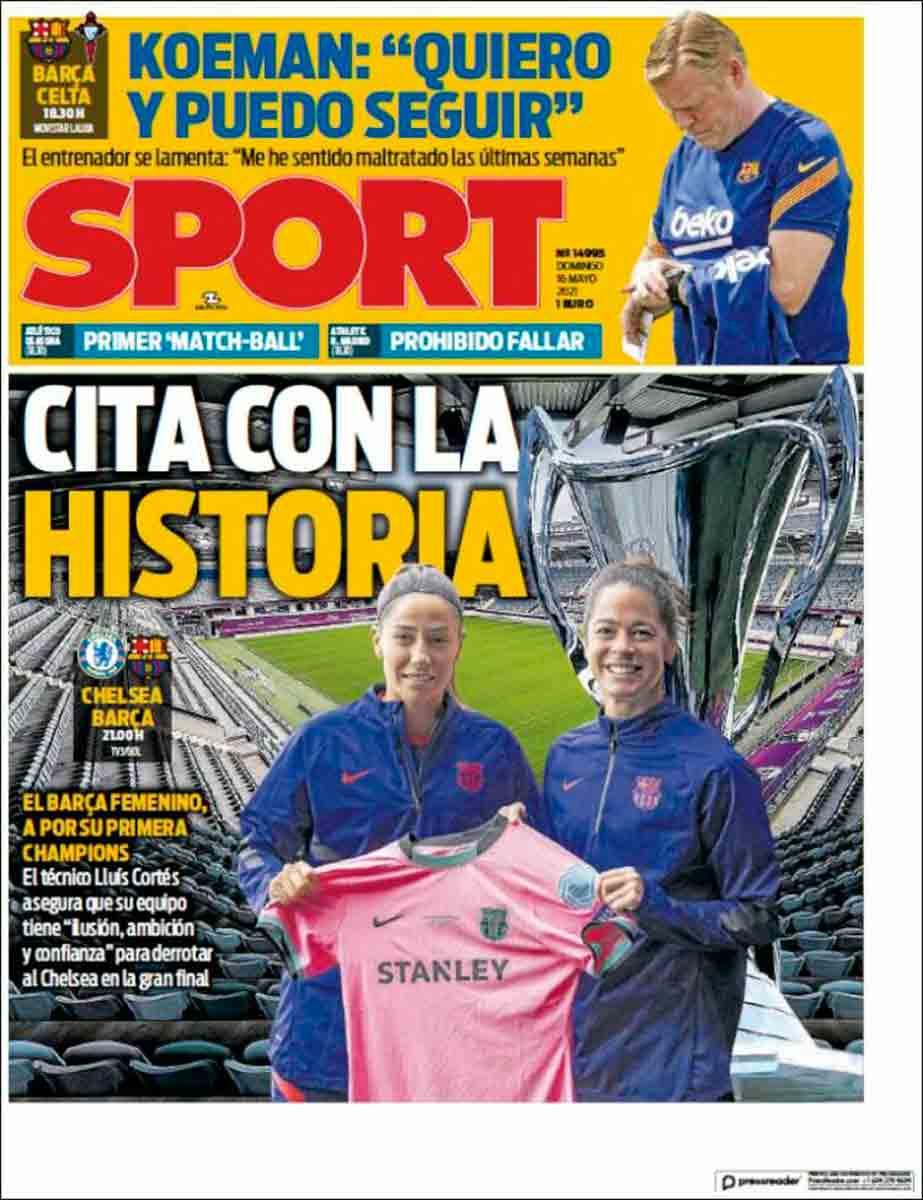 Portada Sport 16-05-21
