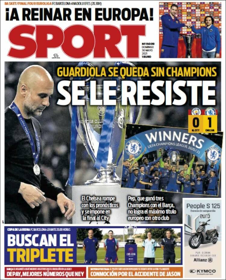Portada Sport 30-05-21