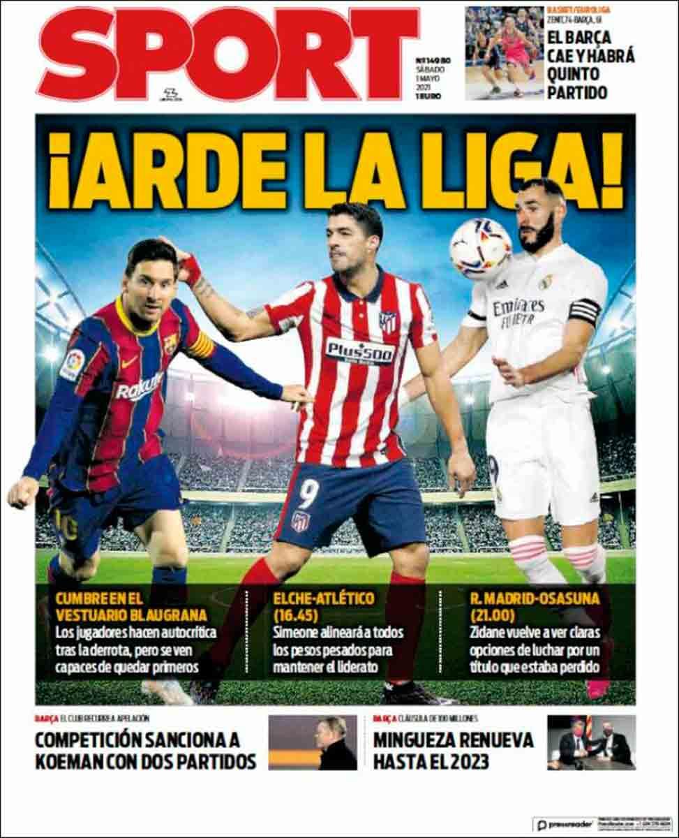 Portada Sport 01-05-21