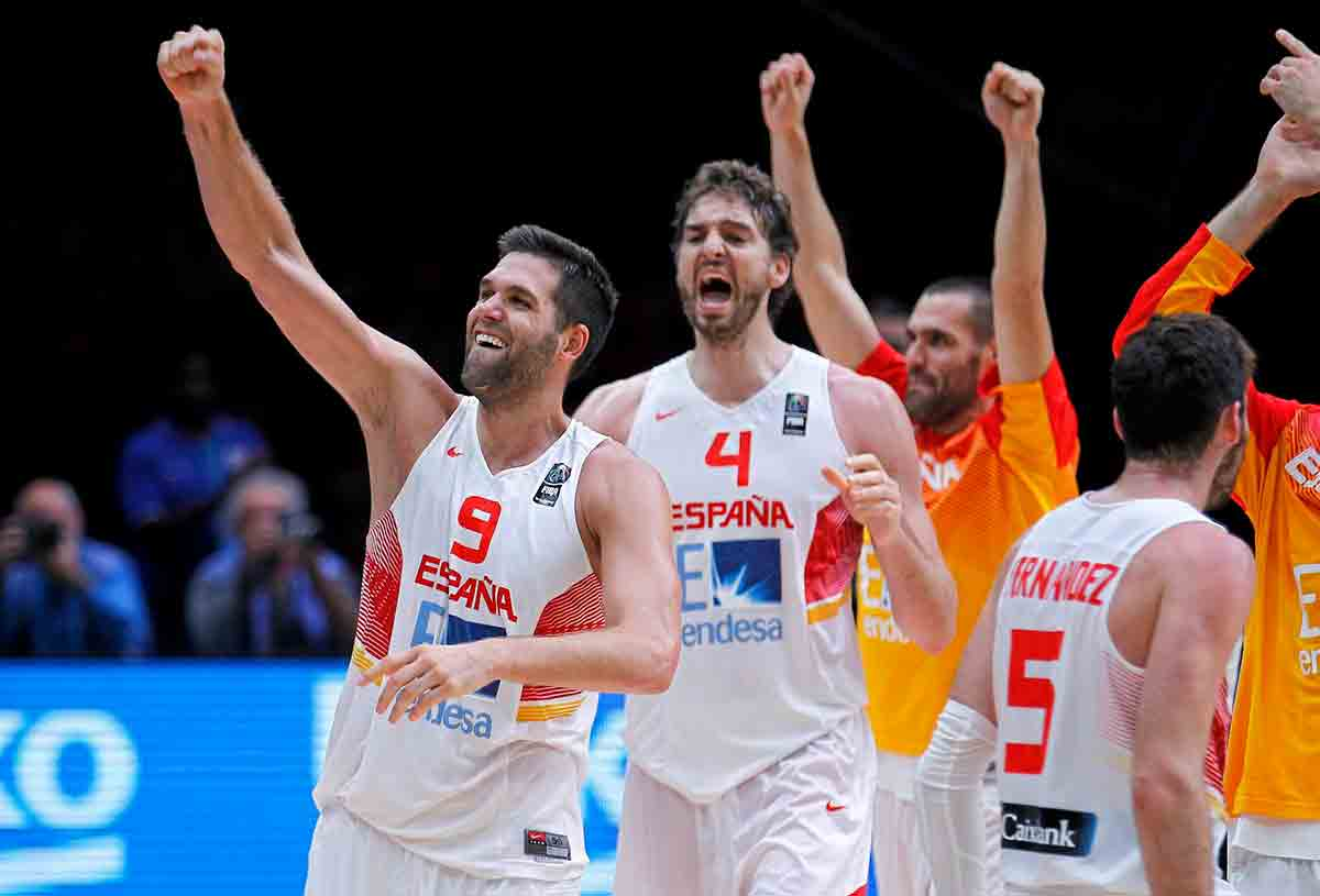 Felipe Reyes Gasol Selección