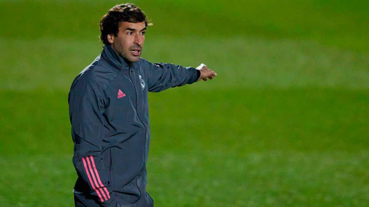 Raúl entrenador