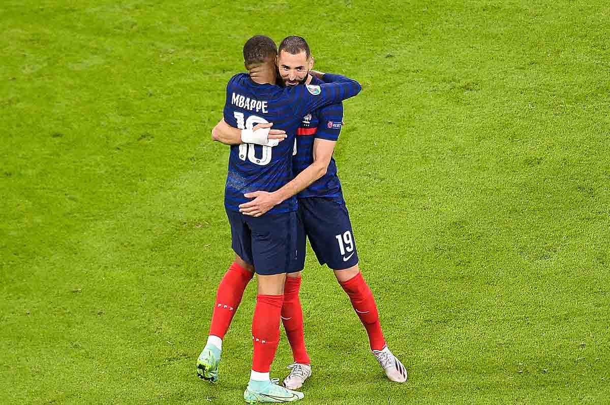 Benzema y Mbappé