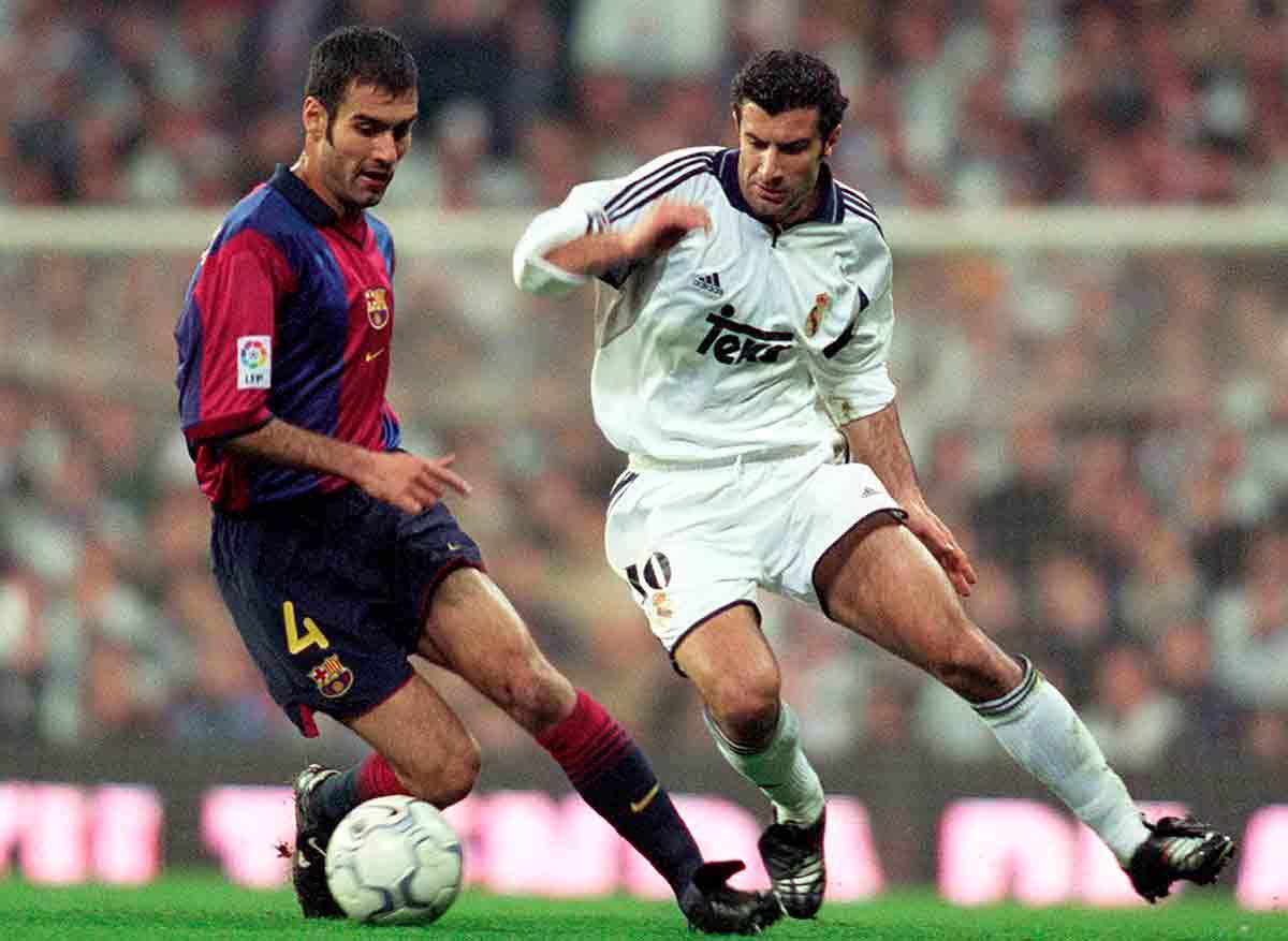 Figo y Guardiola