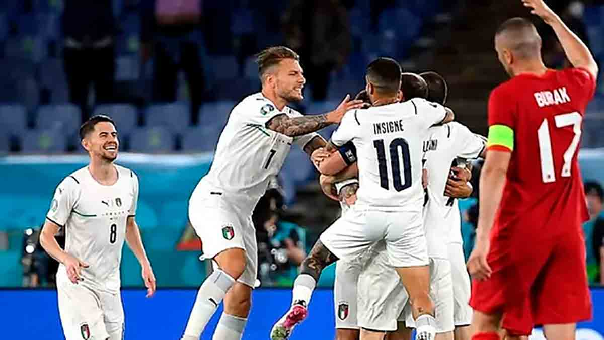 Italia Turquía Eurocopa
