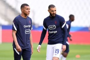 Mbappe y Benzema