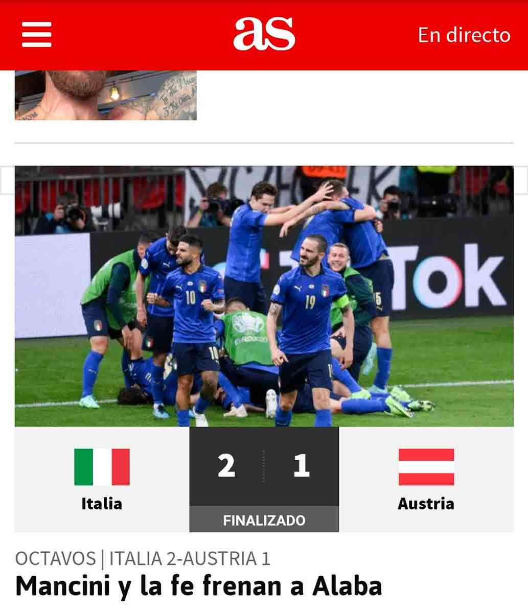 Tuit Alaba Eurocopa