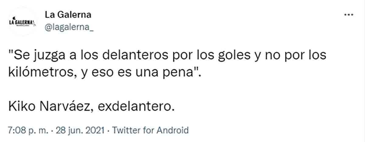 Tuit La Galerna Kiko