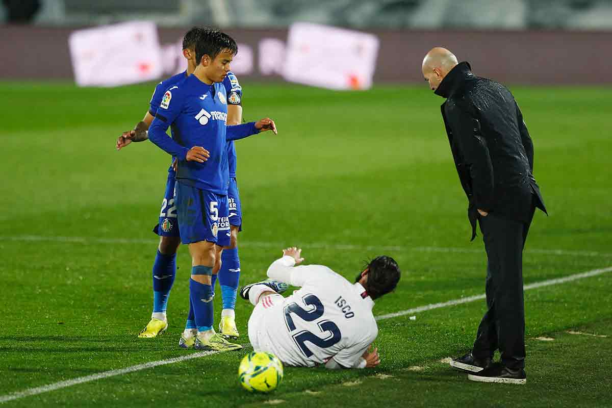 Zidane Kubo Isco