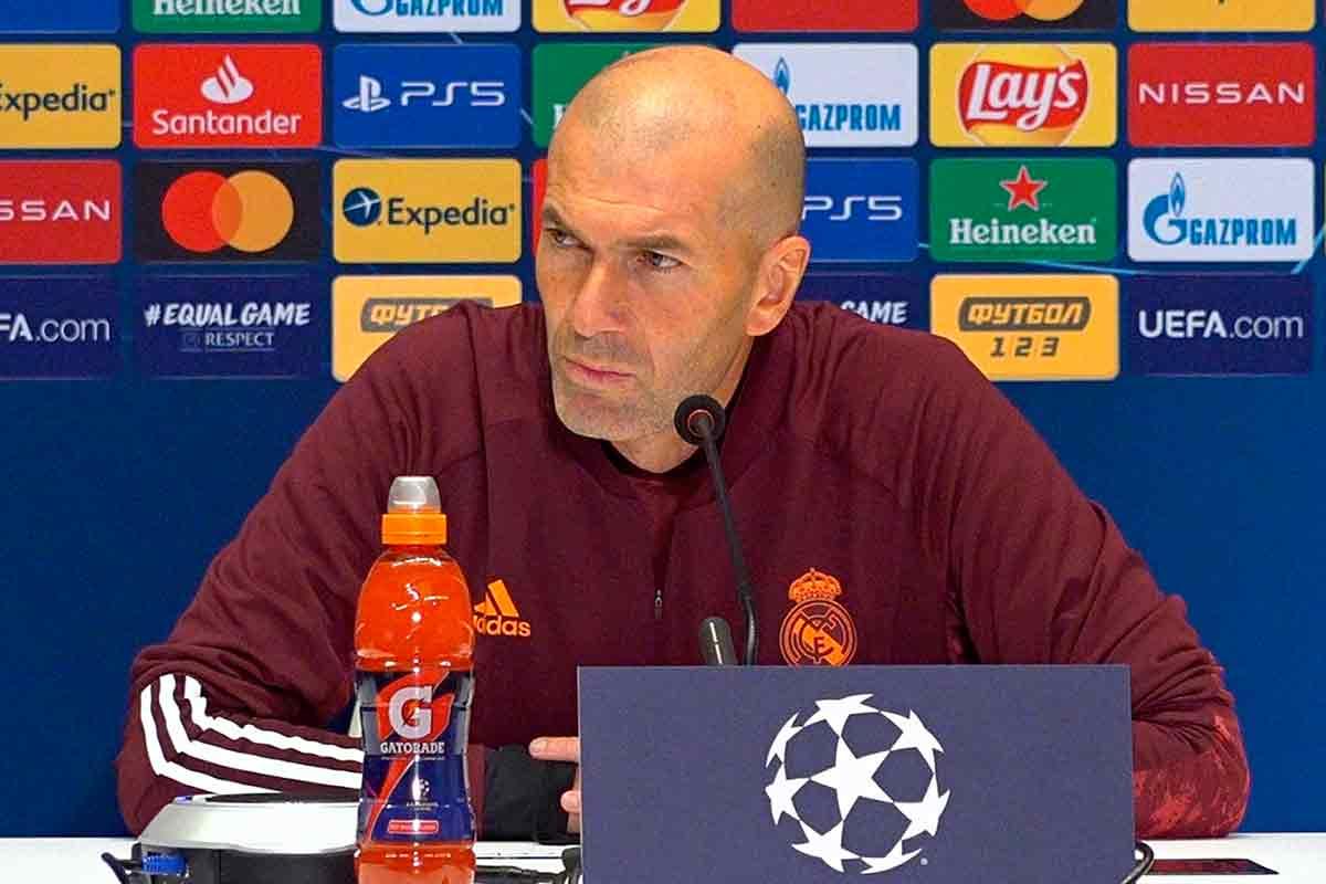 Zidane serio