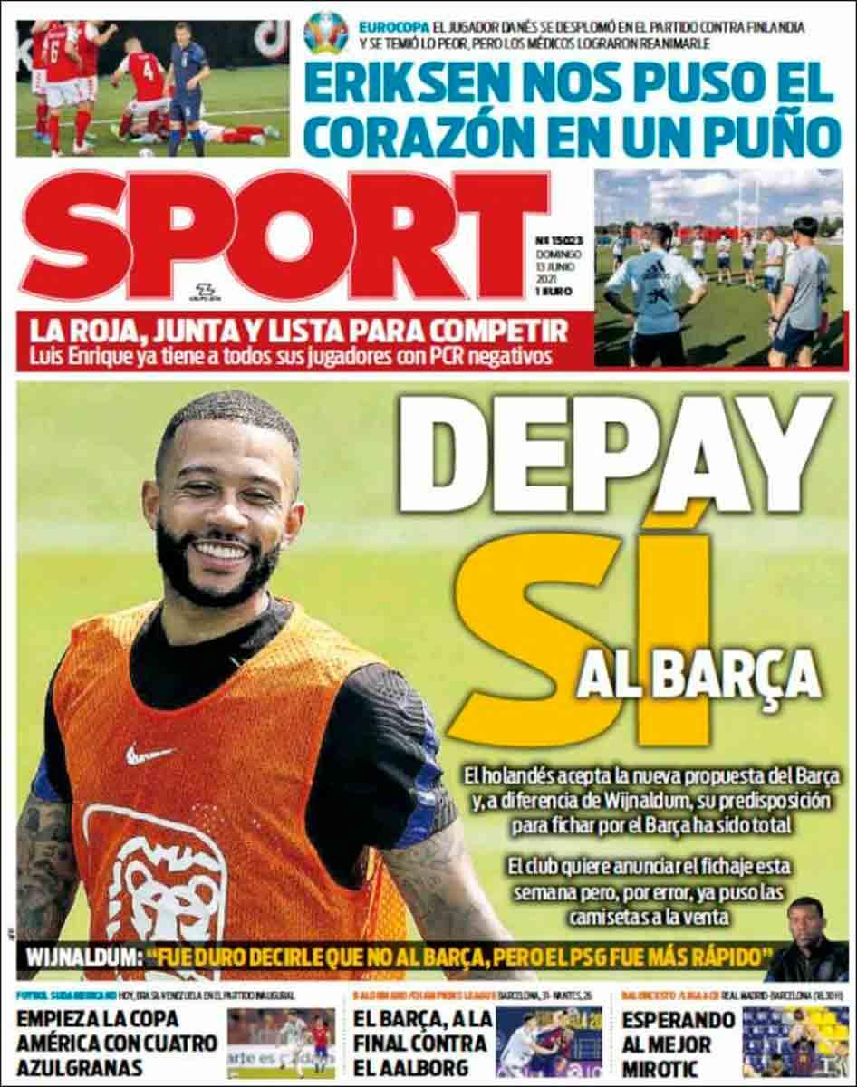 Portada Sport 13-06-21