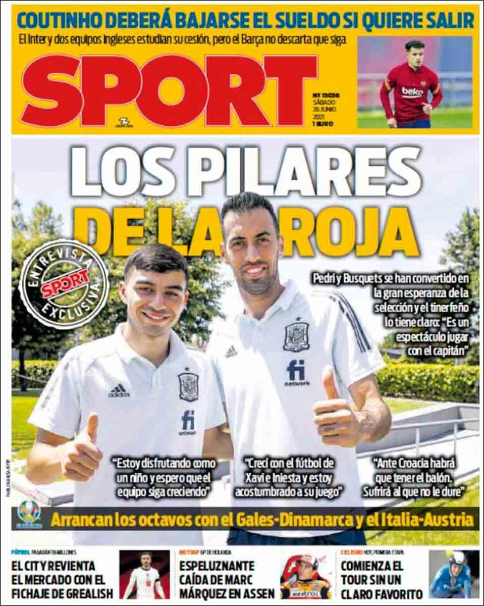 Portada Sport 26-06-21