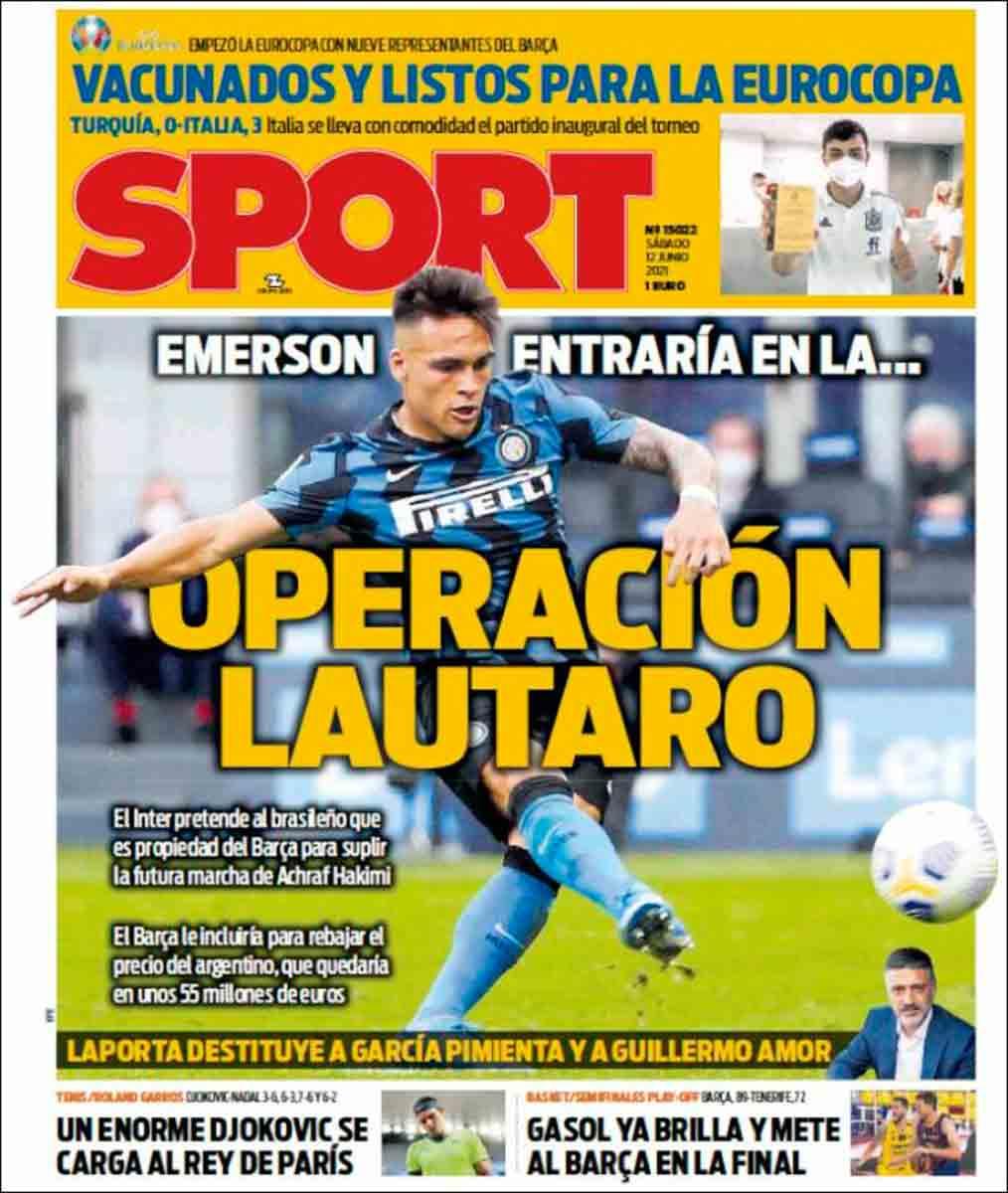 Portada Sport 12-06-21