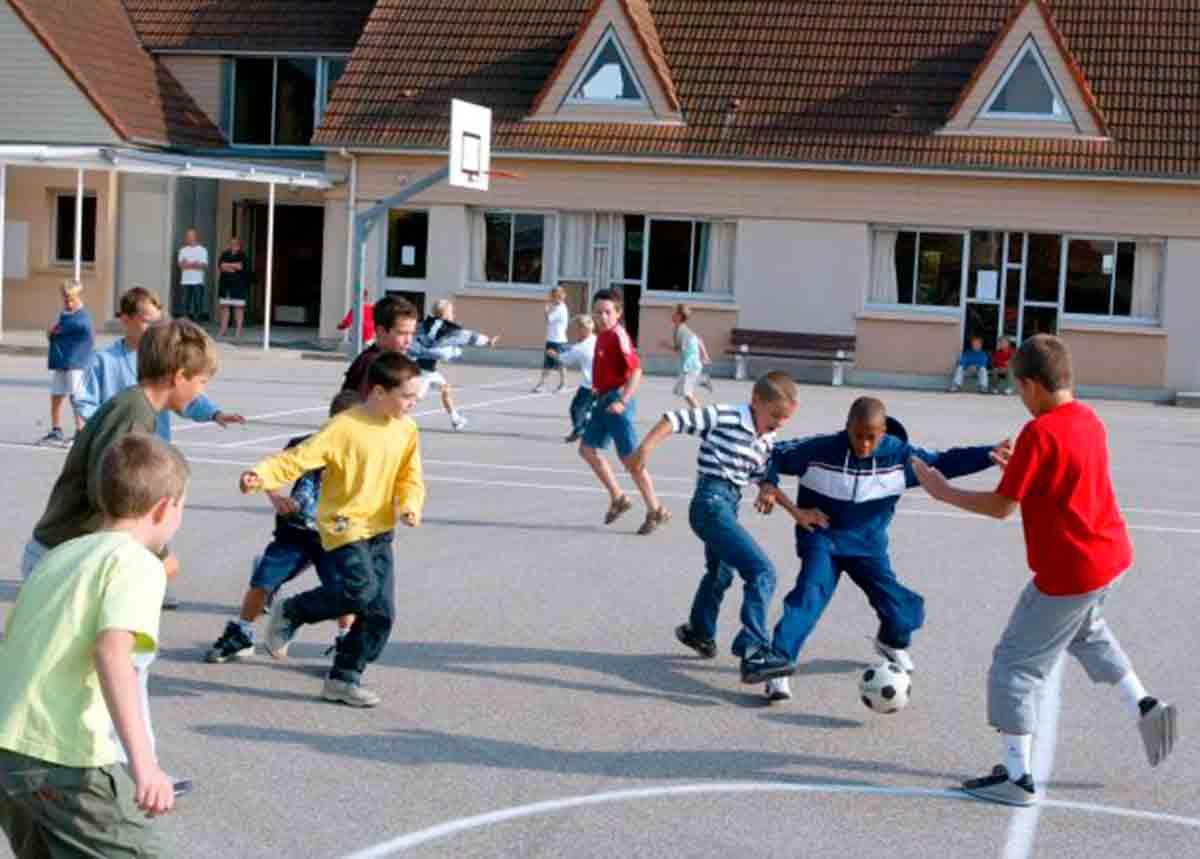 Fútbol colegio