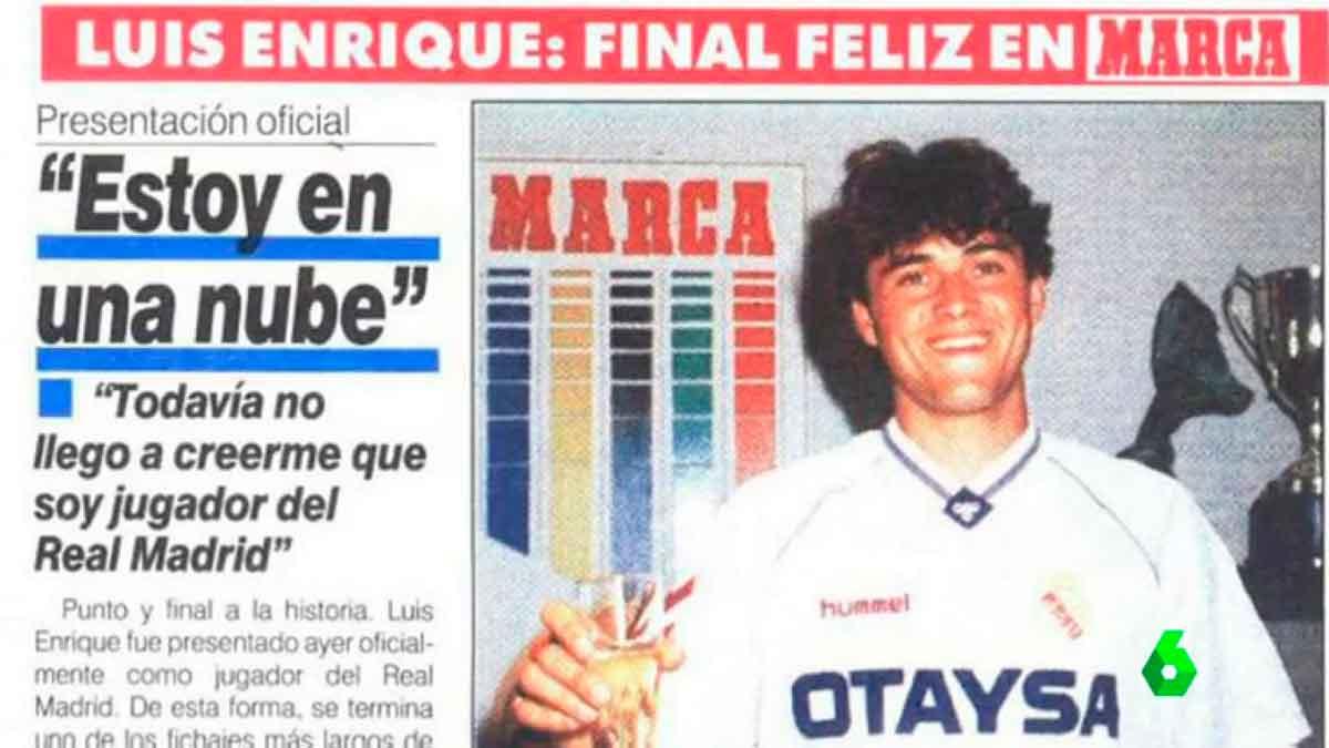 Presentación Luis Enrique Real Madrid