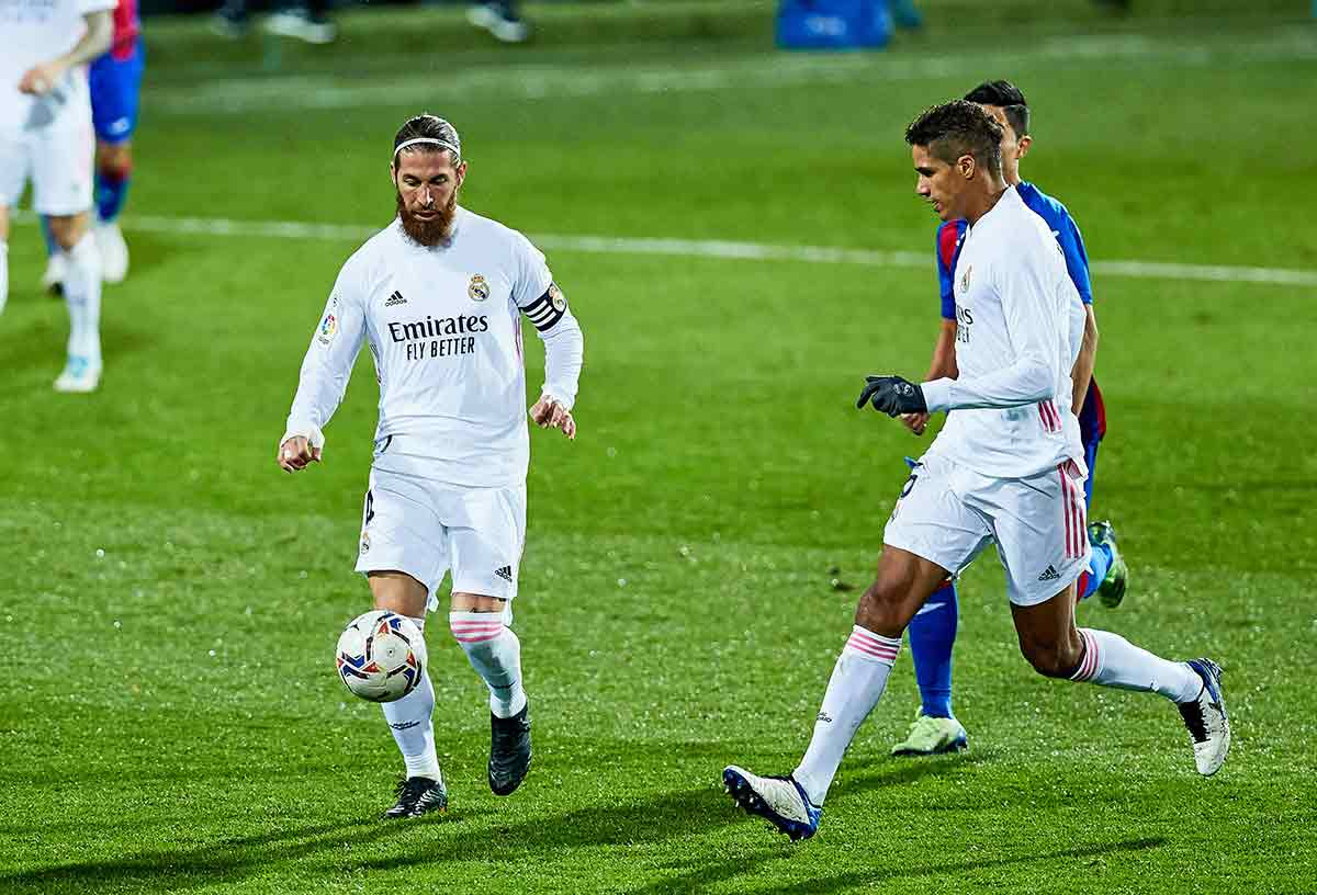 Ramos y Varane