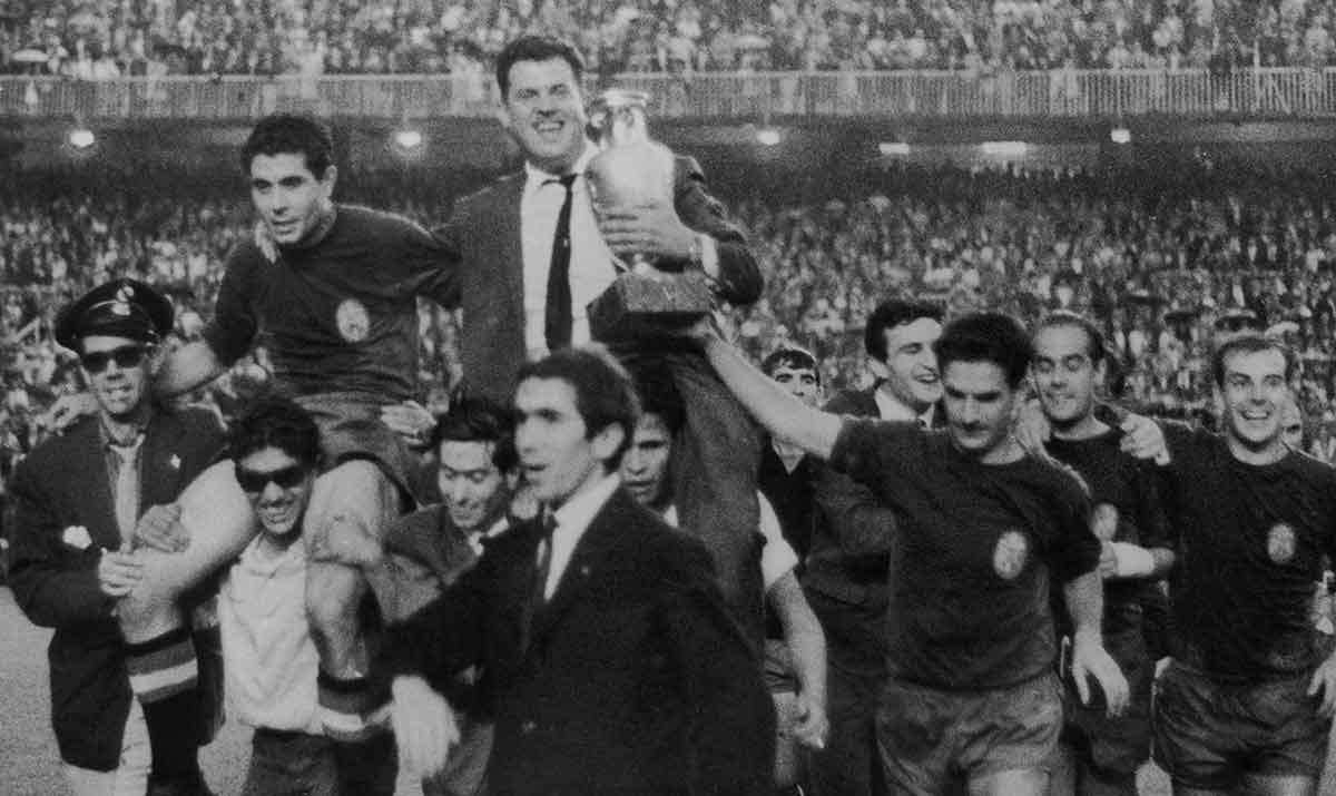 Villalonga campeón Eurocopa 1964