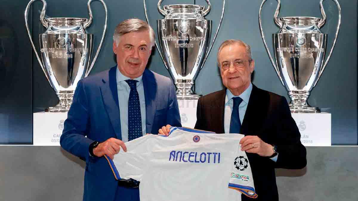 Ancelotti presentación