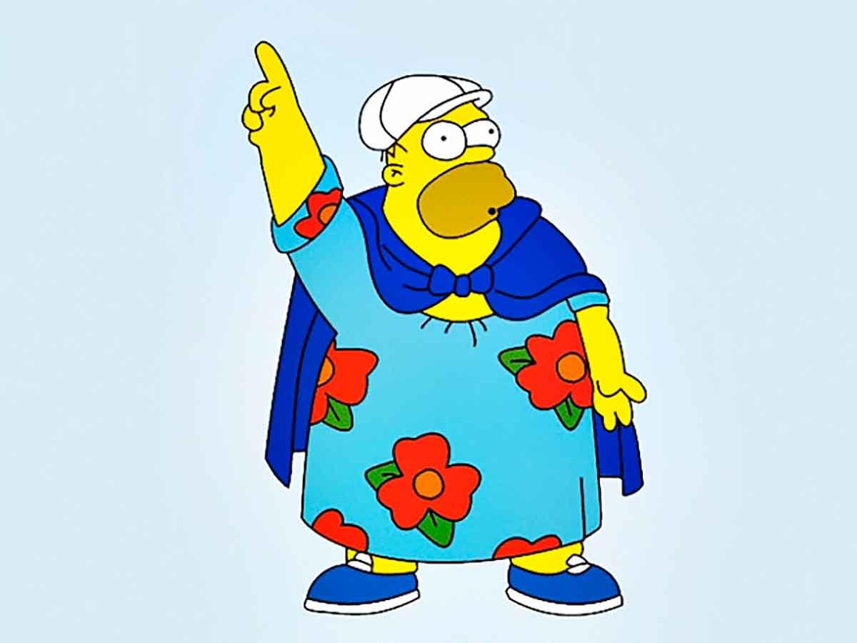 Homer gordo