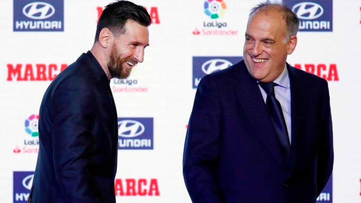 Tebas Messi