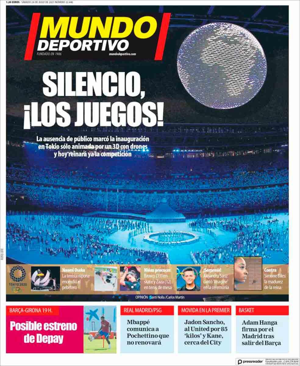 Portada Mundo Deportivo 24-07-21
