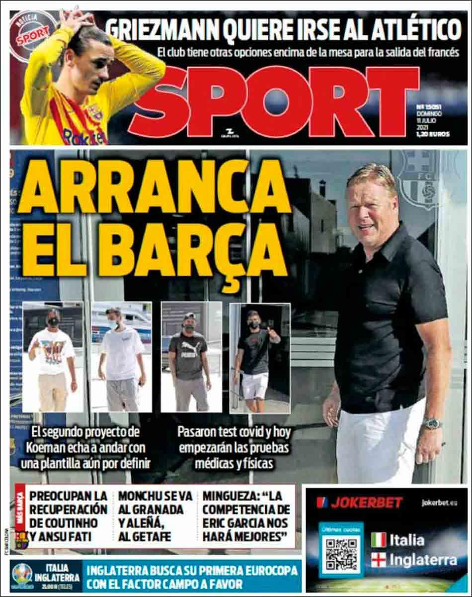 Portada Sport 11-07-21