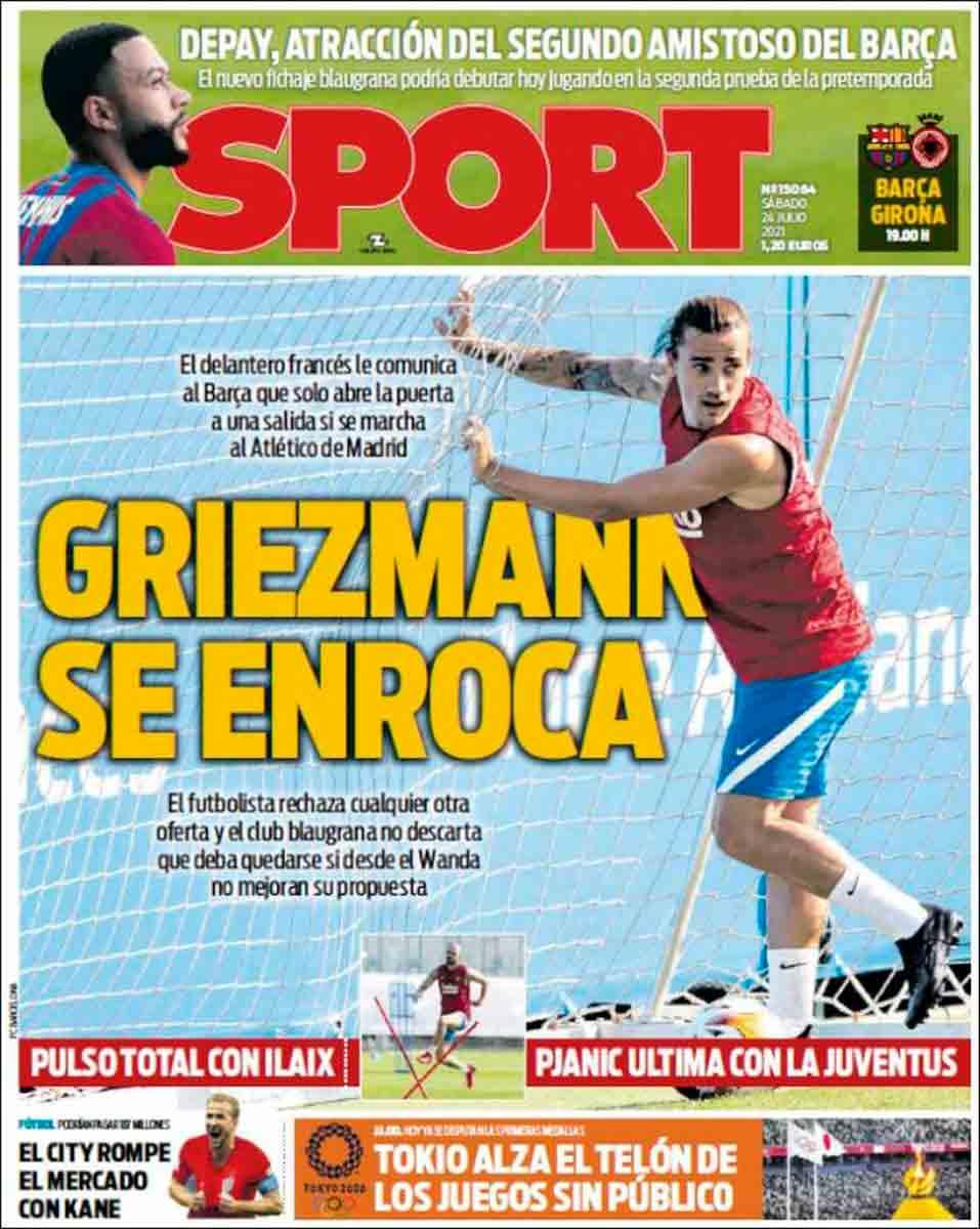 Portada Sport 24-07-21