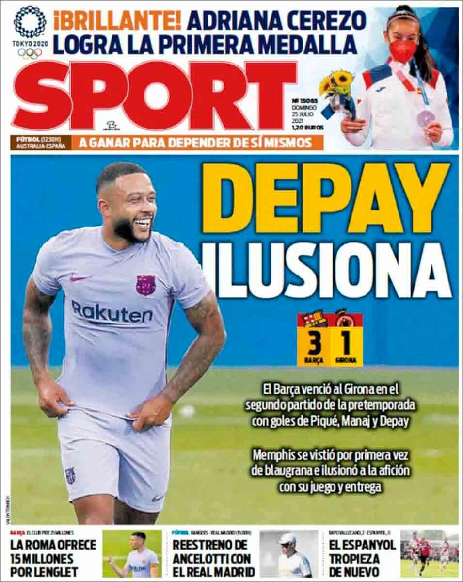 Portada Sport 25-07-21