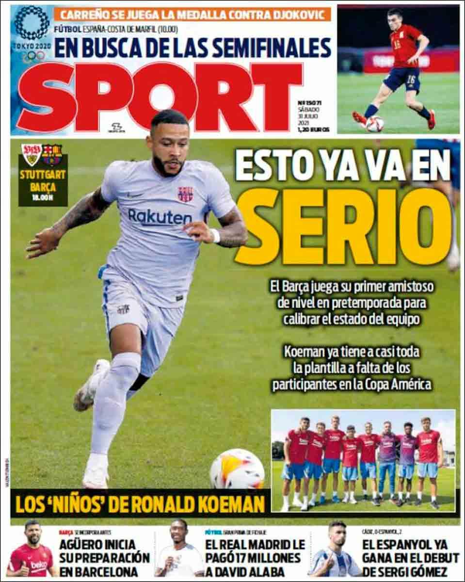 Portada Sport 31-07-21