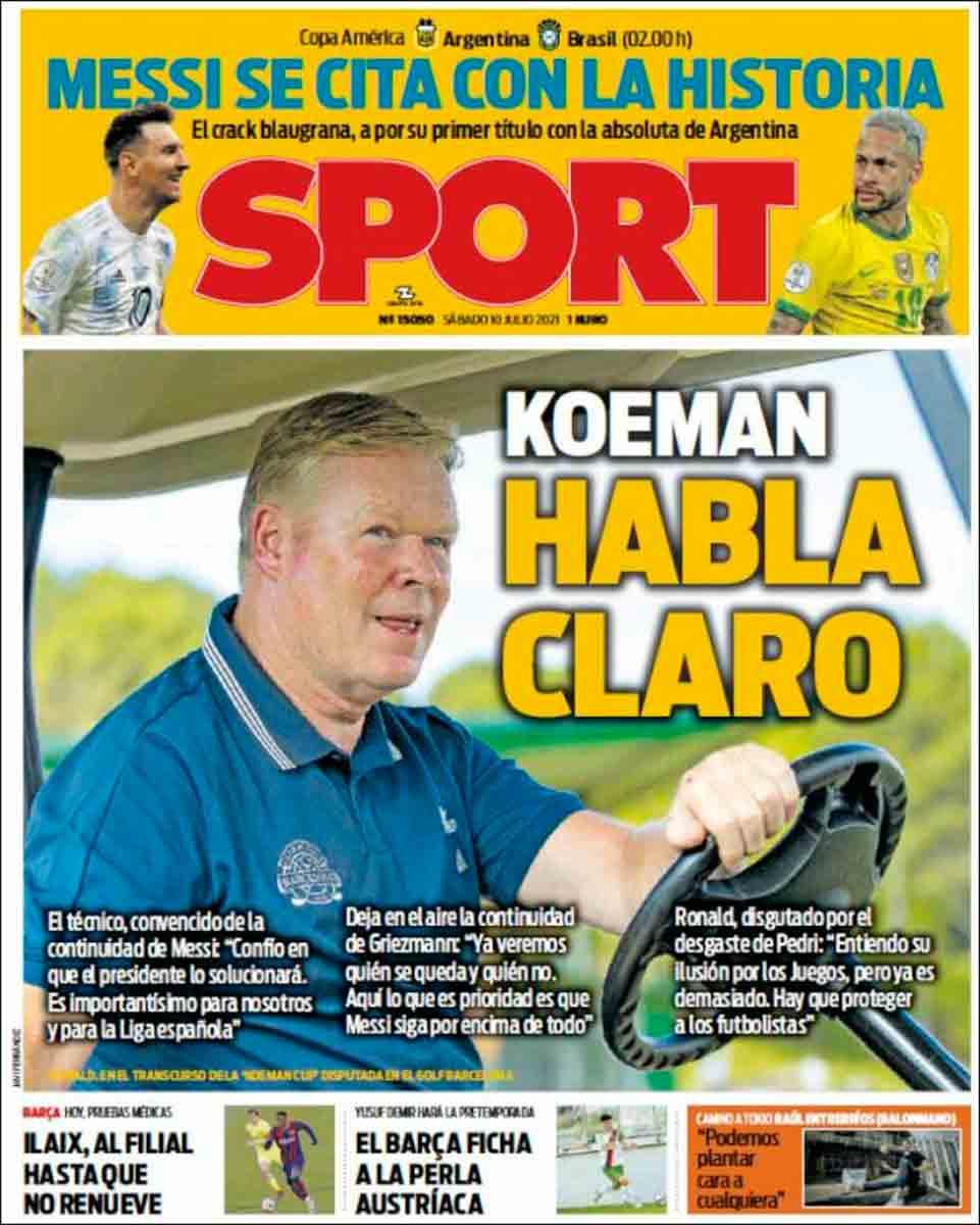 Portada Sport 10-7-21