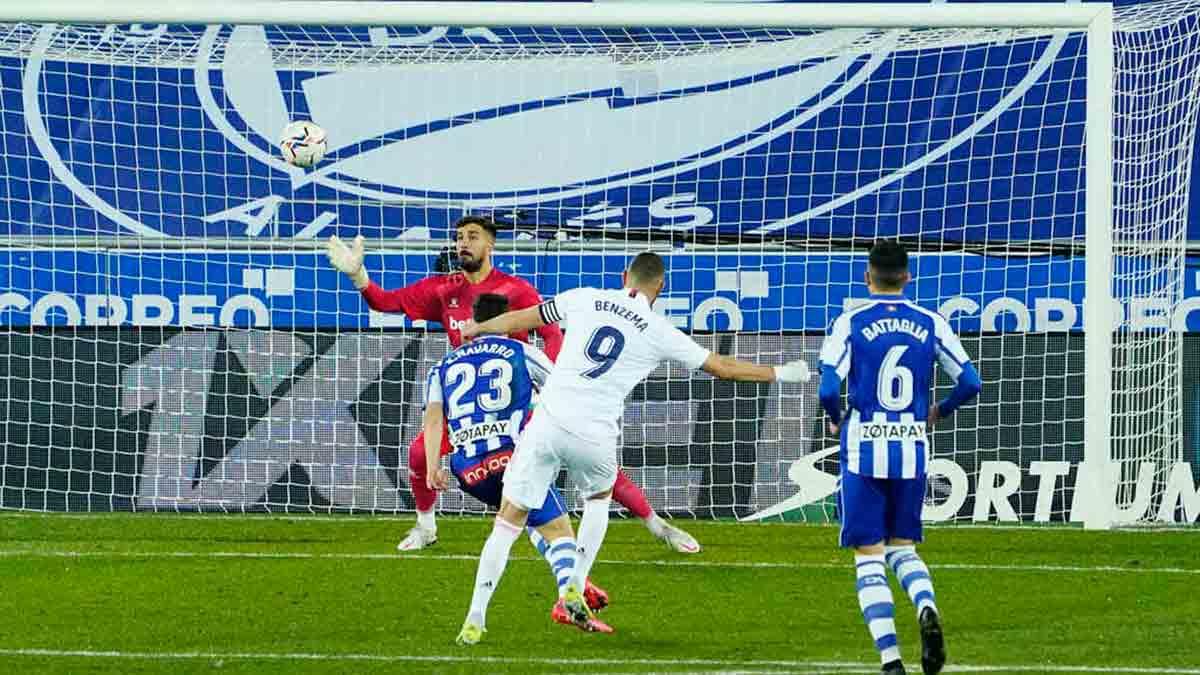 Gol Benzema Alavés