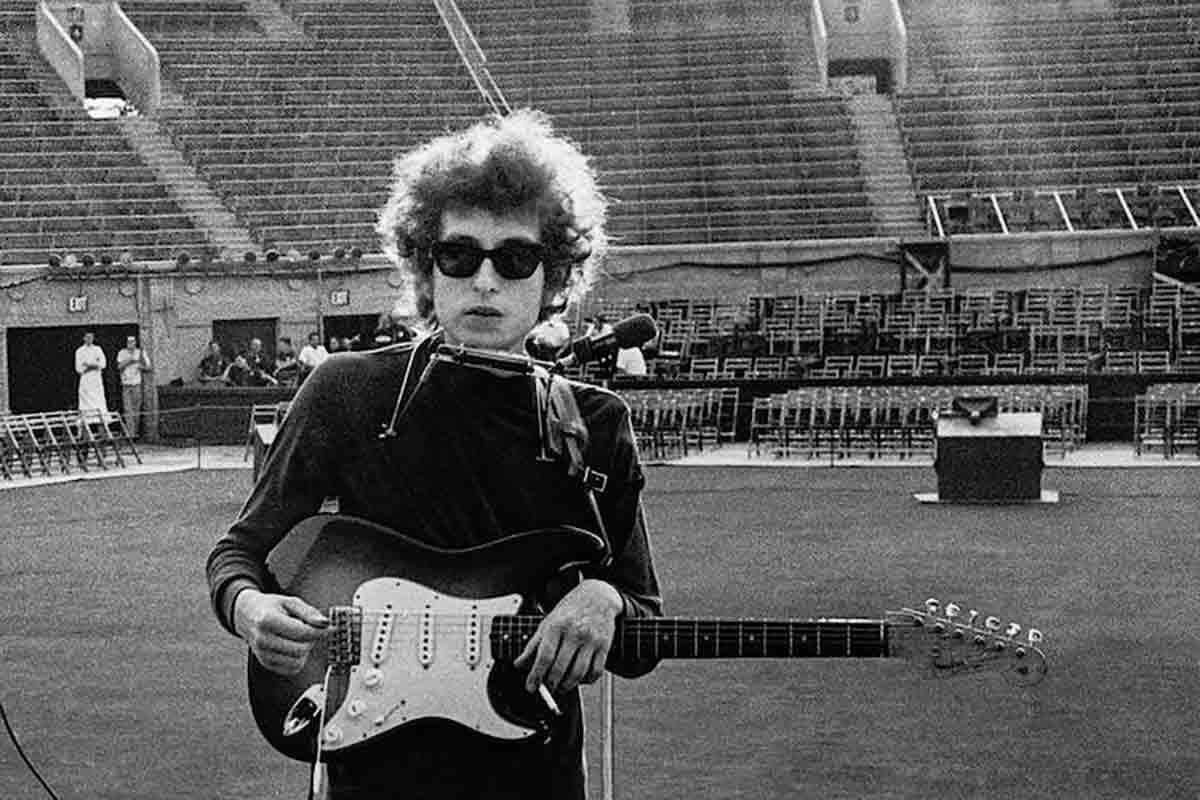 Bob Dylan estadio