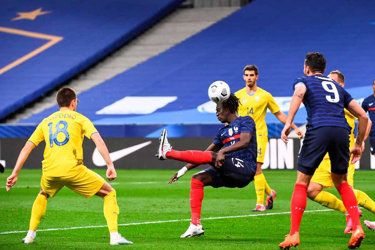 Camavinga gol Francia
