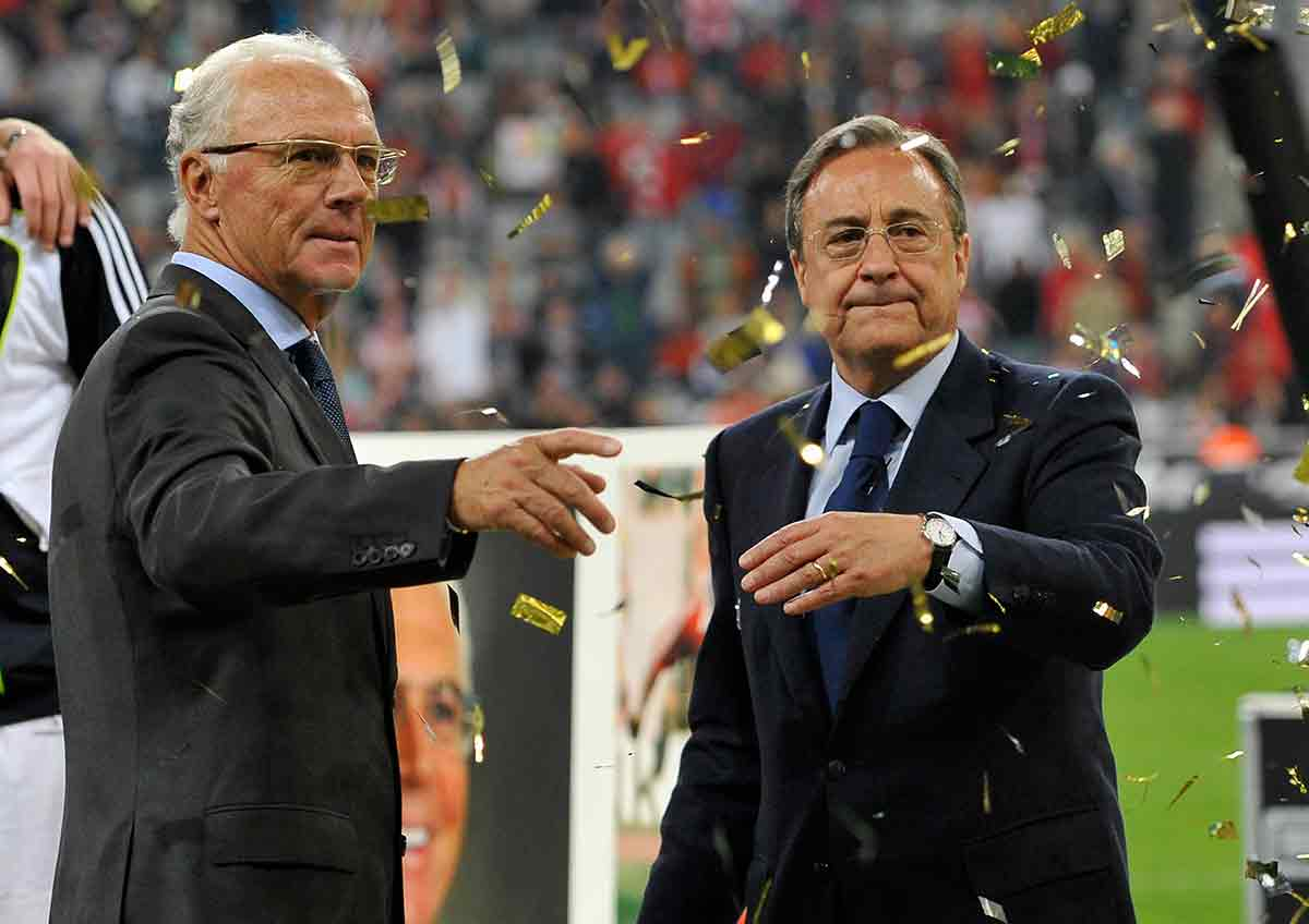 Florentino y Beckenbauer