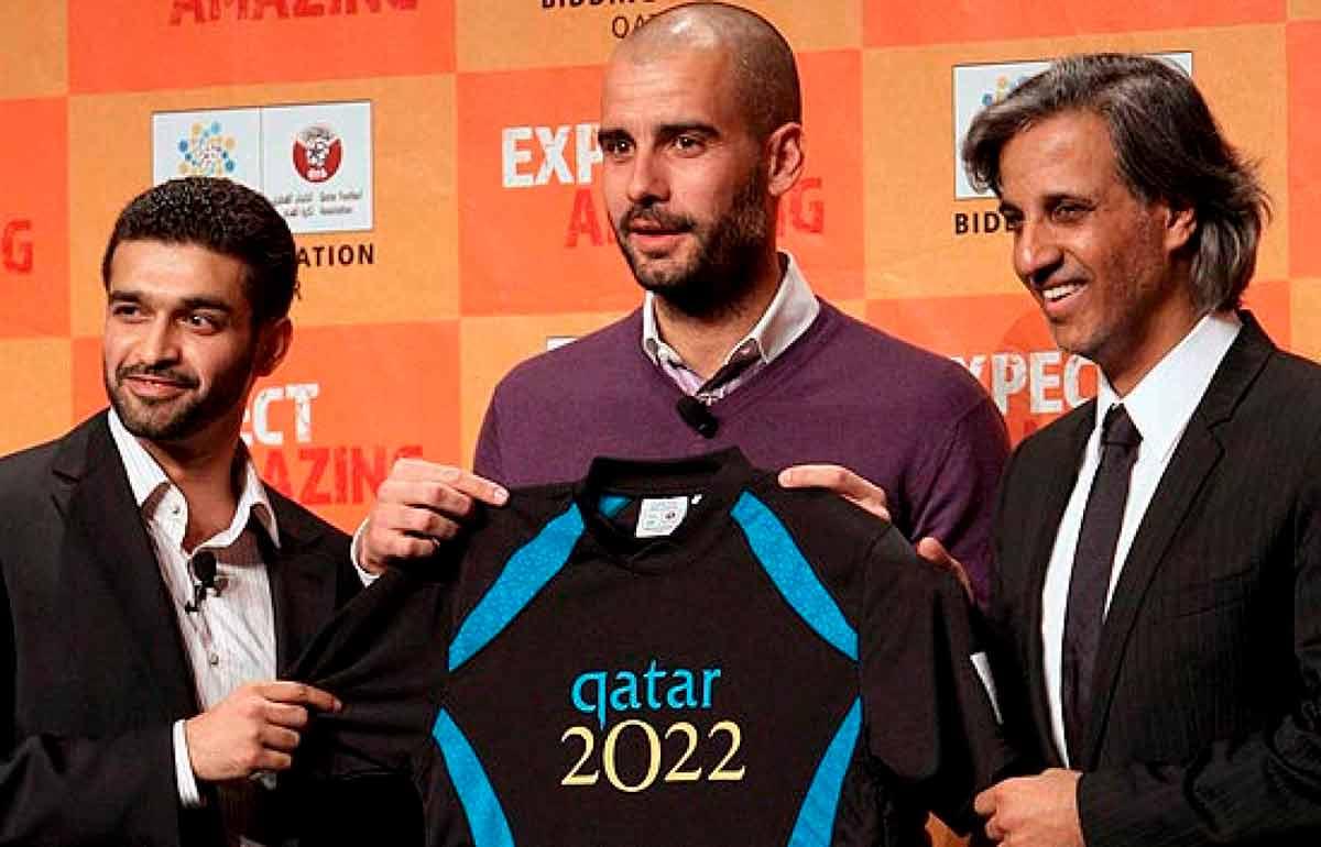 Guardiola-Qatar