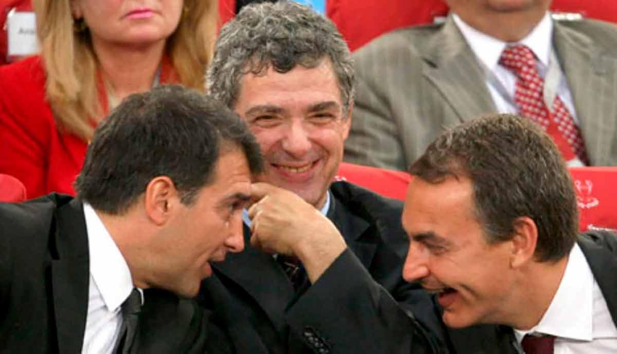 Laporta Zapatero y Villar