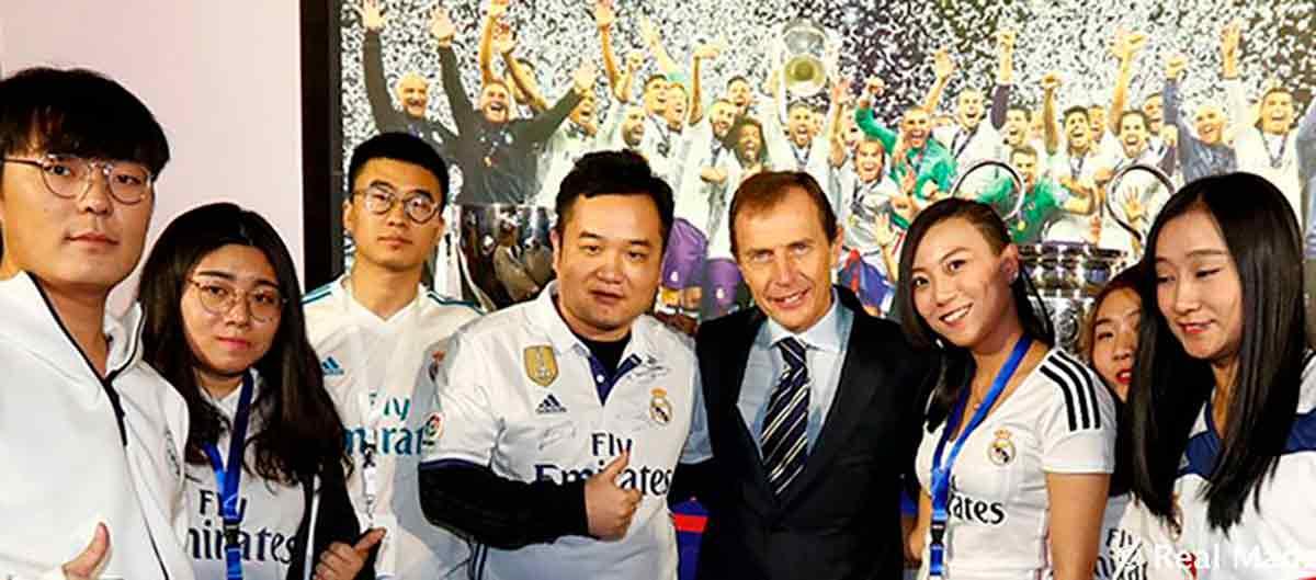 Madridistas chinos
