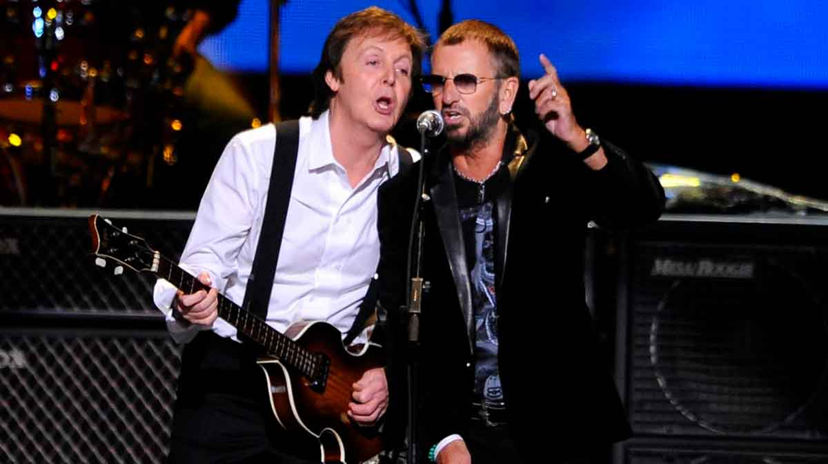 Paul McCarney y Ringo Starr