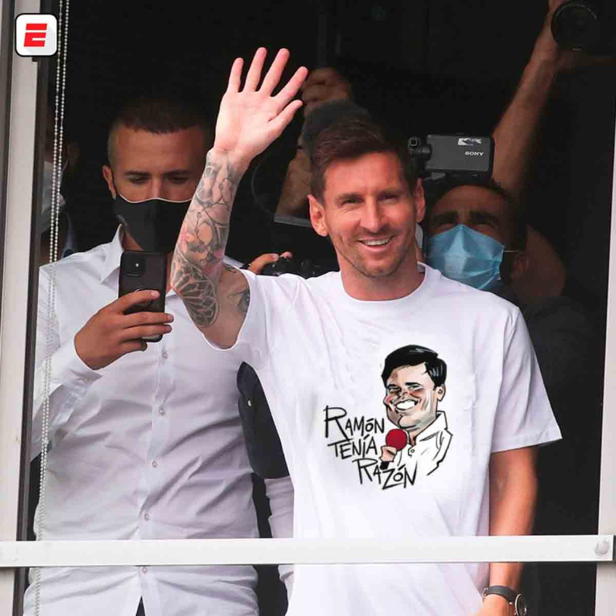 Ramón tenía razón Messi