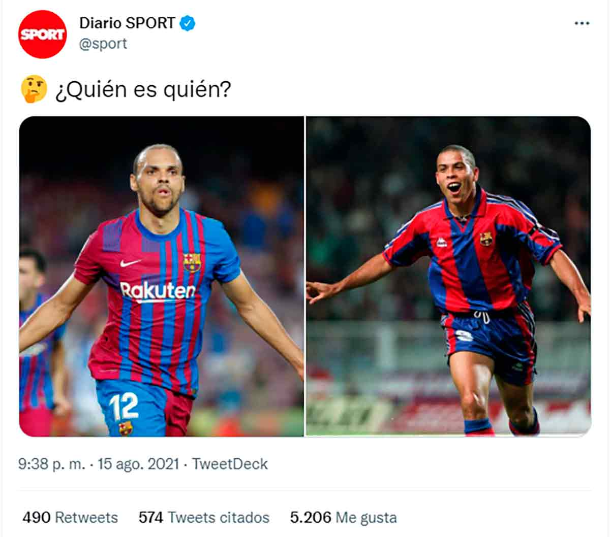 Tuit oligofrénico Sport