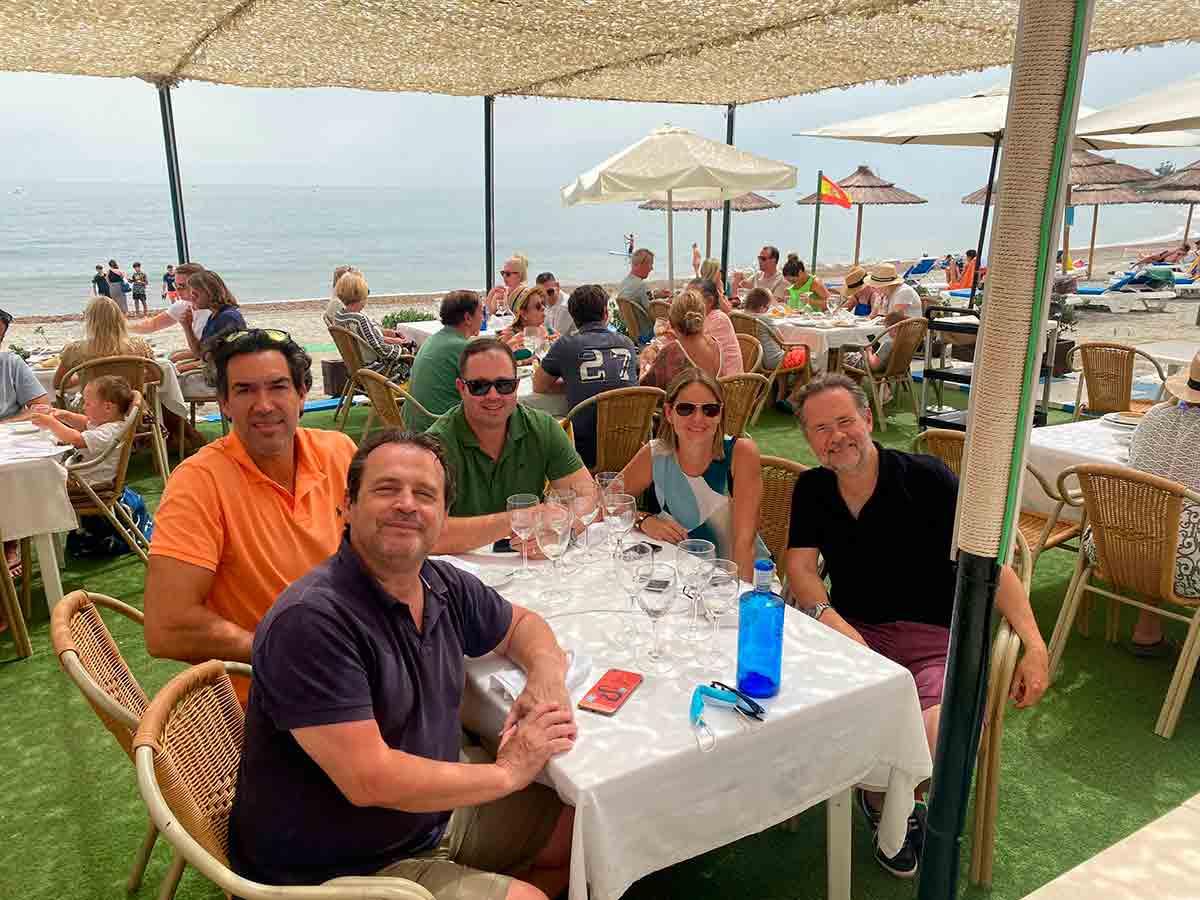 Cinco en Marbella